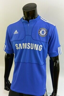The Blues 2009-10 adidas Chelsea FC Home Football Shirt SIZE S (adults)