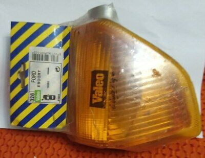 turn indicator complete left hand yellow genuine FORD NOS FORD Escort MK3