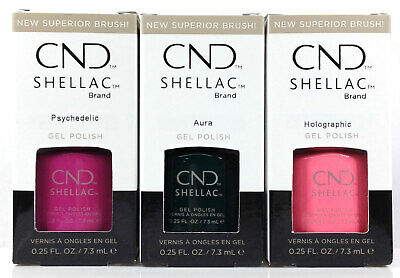 CND Shellac Gel Polish .25oz- PRISMATIC Spring 2019 Collection - Pick Any Color