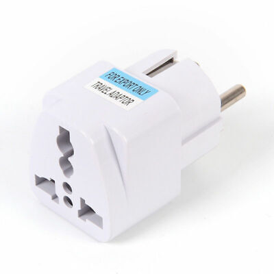 USA US UK AU To EU Europ Travel Charger Power Adapter Converter Wall Plug Home