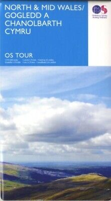 Tour North & Mid Wales (OS Tour Map) (Map)