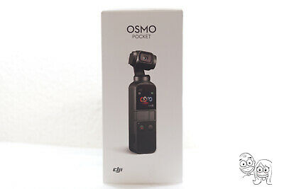 DJI Osmo Pocket 4k Action Camera Handheld 3 Axis Gimbal Stabilizer - Matte Black