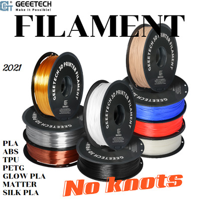 Top sale Geeetech 1.75mm  Red/White/Blue/Purple/Green/Black  PLA filament  1KG