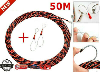 ELECTRICAL WIRE THREADING DEVICE Free Ship__ USA_ UP 50M Big Size & Free Tool
