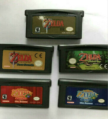 Zelda DX Minish Cap Season/Ages Cartridge Card for Game Boy Advance GBA NDS NDSL