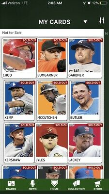 2012/2013 Topps Bunt Base Cards *Pick Any 9* Read Description
