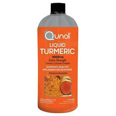 Qunol Liquid Turmeric 1,000 mg., 30.4 Ounces * FAST SHIPPING *