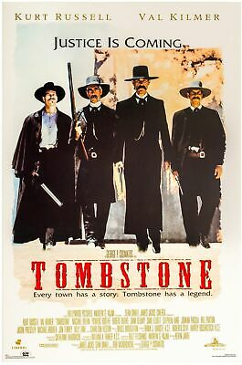 "TOMBSTONE MOVIE POSTER SIZE 16x24"" 24x36"" - MADE IN USA"