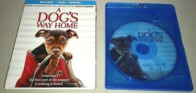 """""""A DOG'S WAY HOME"""" 2019 **BLU-RAY ONLY** (No DVD/Digital) Family Adventure Drama"""