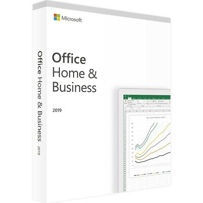 Microsoft Office Home and Business 2019 BOX