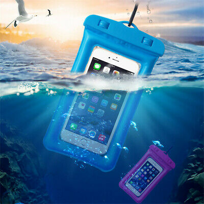 6.3 inch Airbag Floating Underwater Bags Waterproof Touchscreen Phone Bag Pouch
