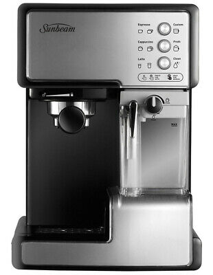 EM5000 Cafe Barista Manual Espresso Machine with Automated Milk Frother: Stai...