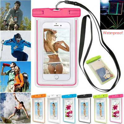 PVC Waterproof Dry Bag Case Cover For Cell Phone Touch Screen Underwater Pouchs