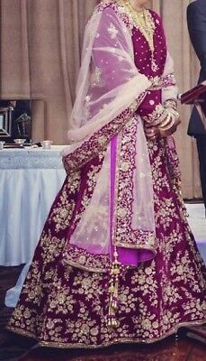 Indian Wedding/ Reception Gown