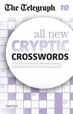 The Telegraph: All New Cryptic Crosswords 10 9780600633112 | Brand New