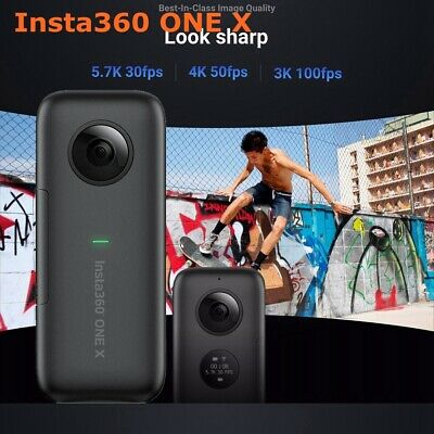 Insta360 ONE X 5.7K Action Camera Panoramic Anti-shake Motion Sports DV OLED EU