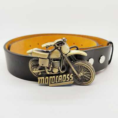 Motocross MX Belt Buckle Trials Dirt Scrambling Motorbike Racing Bike Motorbike