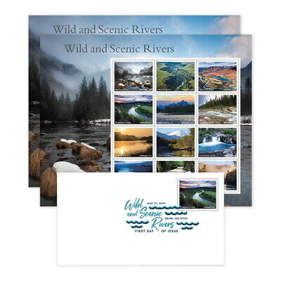 USPS New Wild and Scenic Rivers Keepsake (Set of 2)