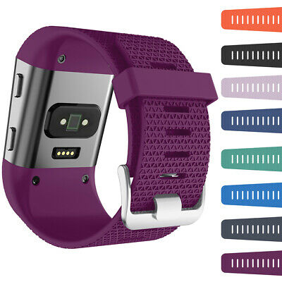 Silicone Replacement Wrist Band Strap Slim Protector Cover for Fitbit Surge