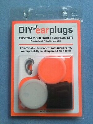 DIYearplugs Custom Moulded Earplug Kits for Motorcycles, Hot Rods, Scooters etc