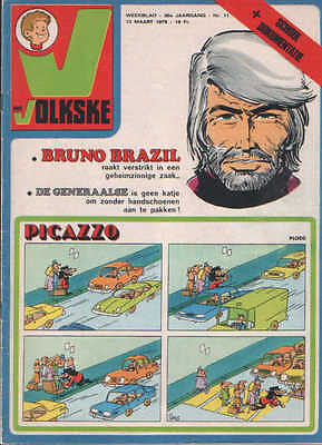 Ons volkske n°11   1975  complet avec point tintin