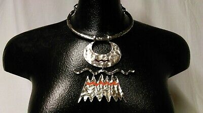 FRENCH DESIGNER NECKLACE MODERNIST BICHE de BERE LIMITED EDITION No. 36/147