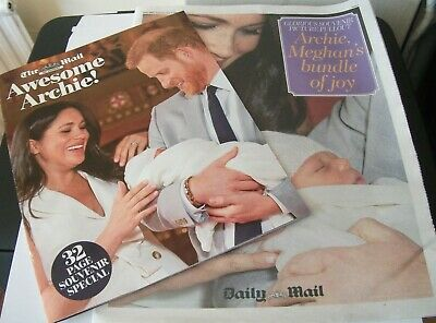 HARRY & MEGHAN - The Birth Of Archie!..Daily Mail/Mail On Sunday Pull-Outs...