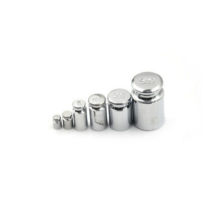 Weight 1g 2g 5g 10g 20g 50g Chrome Plating Calibration Gram Scale Weight CL