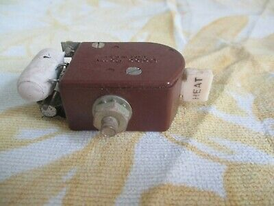 Vintage Delco Remy 3 Speed Heater Switch 1930's 40's ERA  GM Chevrolet Car Truck