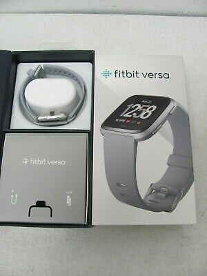 Fitbit Versa Smartwatch with Heart Rate Monitor Silver