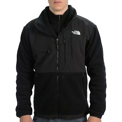 The North Face MEN'S Denali Jacket 300 Polartec TNF Black Sz M,L,XL,2X