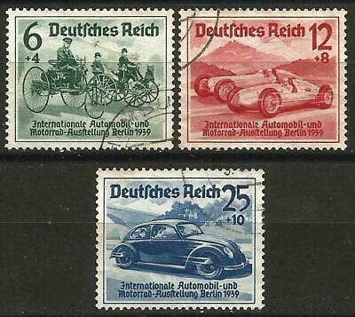 Germany (Third Reich) 1939 Used - International Motor Show Benz VW Beetle