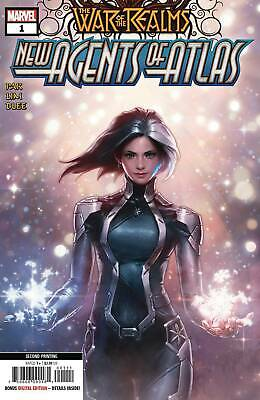 War Of Realms New Agents Of Atlas #1 (Of 4) 2Nd Ptg Var 6/12/2019