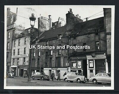 c1950 Photograph Of Nethergate Dundee With Atholl Hotel & Vintage Cars Etc
