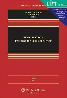Negotiation Processes for Problem Solving 9781454802648 | Brand New