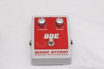 BBE Sonic stomp Maximizer Effects Pedal