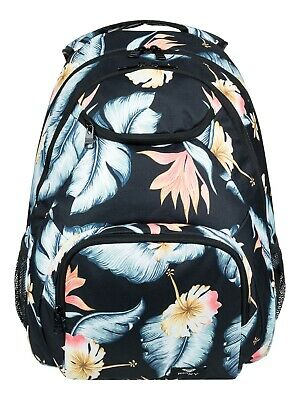 Roxy Shadow Swell J Bkpk Kvj6 Anthracite Tropical Love S 1SZ