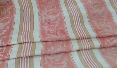 Beautiful 19th C French Cotton Ticking Stripes 2 Pieces 2615