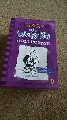 Diary Of A Wimpy Kid. Boxed Set, By Jeff Kinney