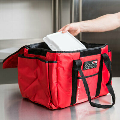 ProServe Insulated Sandwich Delivery Bag, Rubbermaid FG9F4000RED