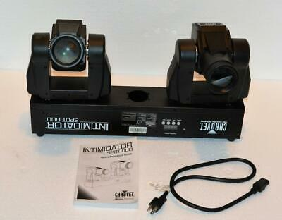 Chauvet Intimidator Spot Duo DJ Performance Lights in great working condition