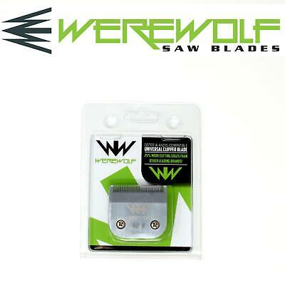 Werewolf Professional Dog Clipper Blades Size 40 Fits Oster, Andis, Sure Clip