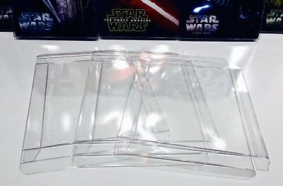 100 Box Protectors For STEELBOOKS    Clear Plastic Cases / Covers / Sleeves  G2