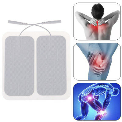 Tens Machine Electrode Pads For Massagers Reusable Self-adhesive Long Life STPA