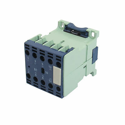 H● CJX2-0610E Three Pole 1NO AC Contactor Coil 110V 6A 50Hz.