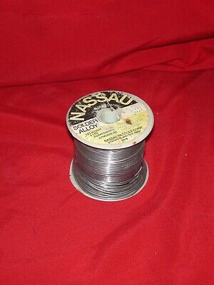 Nassau Western Electric 60/40 Tube Amplifier Preamp Solder Wire [~3.5 LBS]
