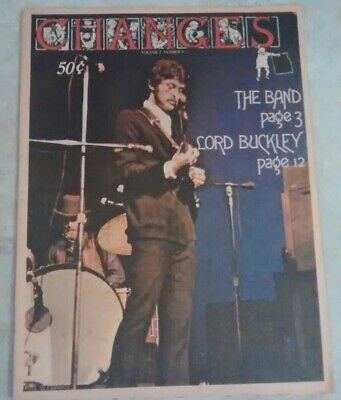 Grateful Dead 1969 CHANGES Music Newspaper Bob Dylan The Band Moody Blues Rare