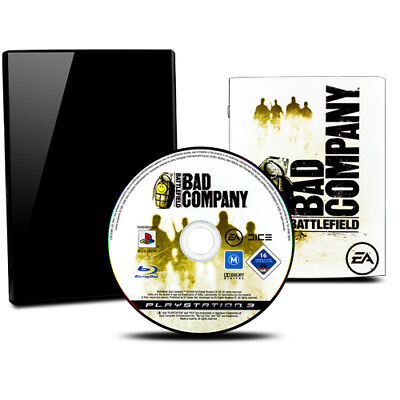 PS3 - PLAYSTATION 3 Juego Battlefield - Bad Company con Instrucciones y Funda #C