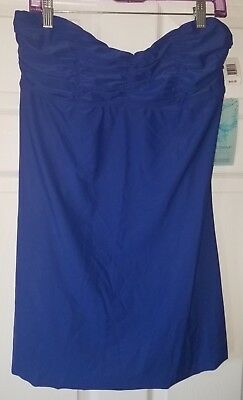 68712f7ce2400 $48 NWT Eco Swim by Aqua Green Swimsuit Cover Up Dress Blue Size XL XLarge