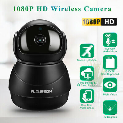 Wifi IP Camera 1080P HD H.264 Wifi 2MP Sans fil CCTV Caméra Vision nocturne Nior